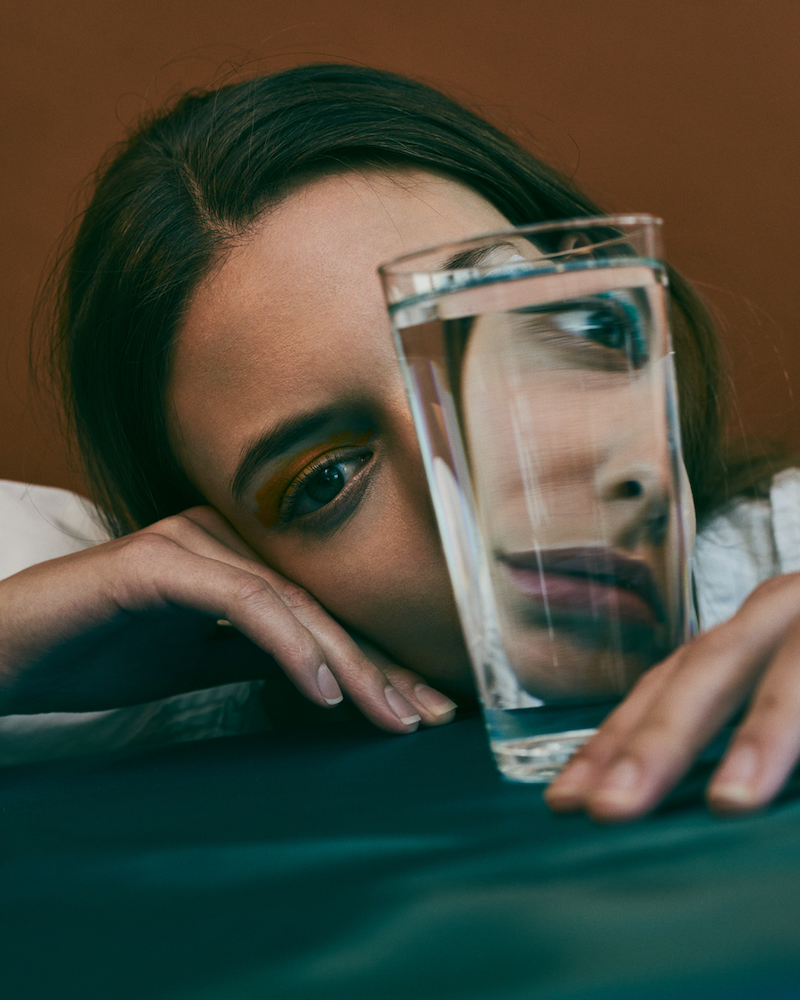Girl with Glass